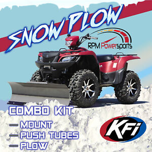 New Kfi 54 Pro Series Snow Plow Mount 2016 2020 Polaris Sportsman 450 Atv Ebay