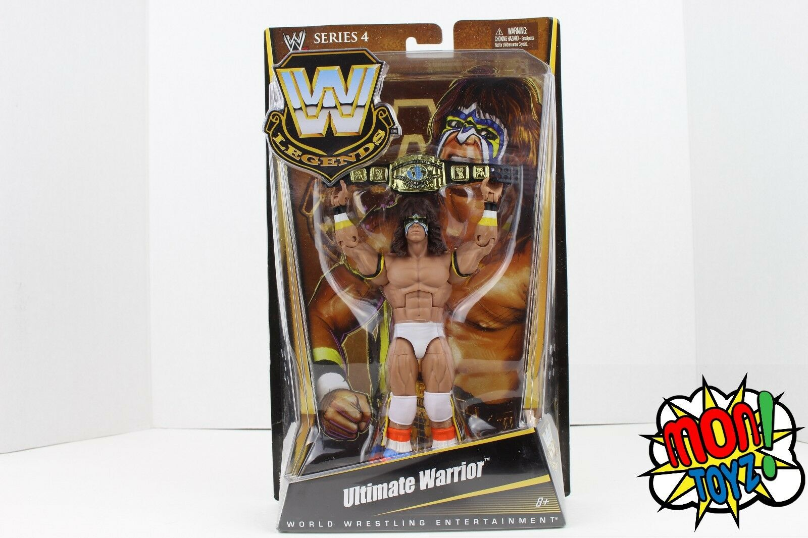 Ultimate Warrior WWE Wrestling Legends Series 4 Action Figure HTR NEW