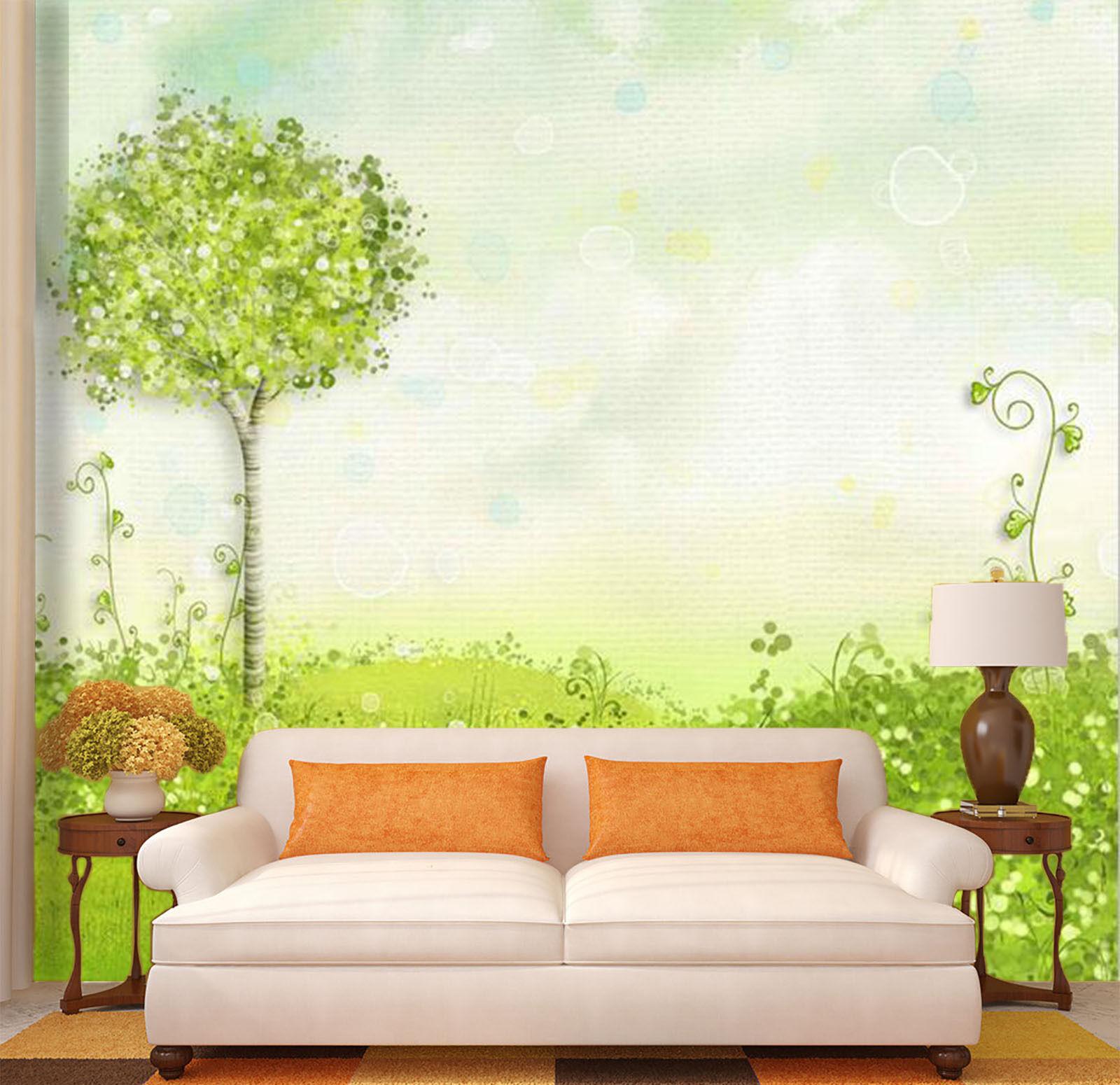 3D Tendre.Bourgeon.Photo Papier Peint en Autocollant Murale Plafond Chambre Art
