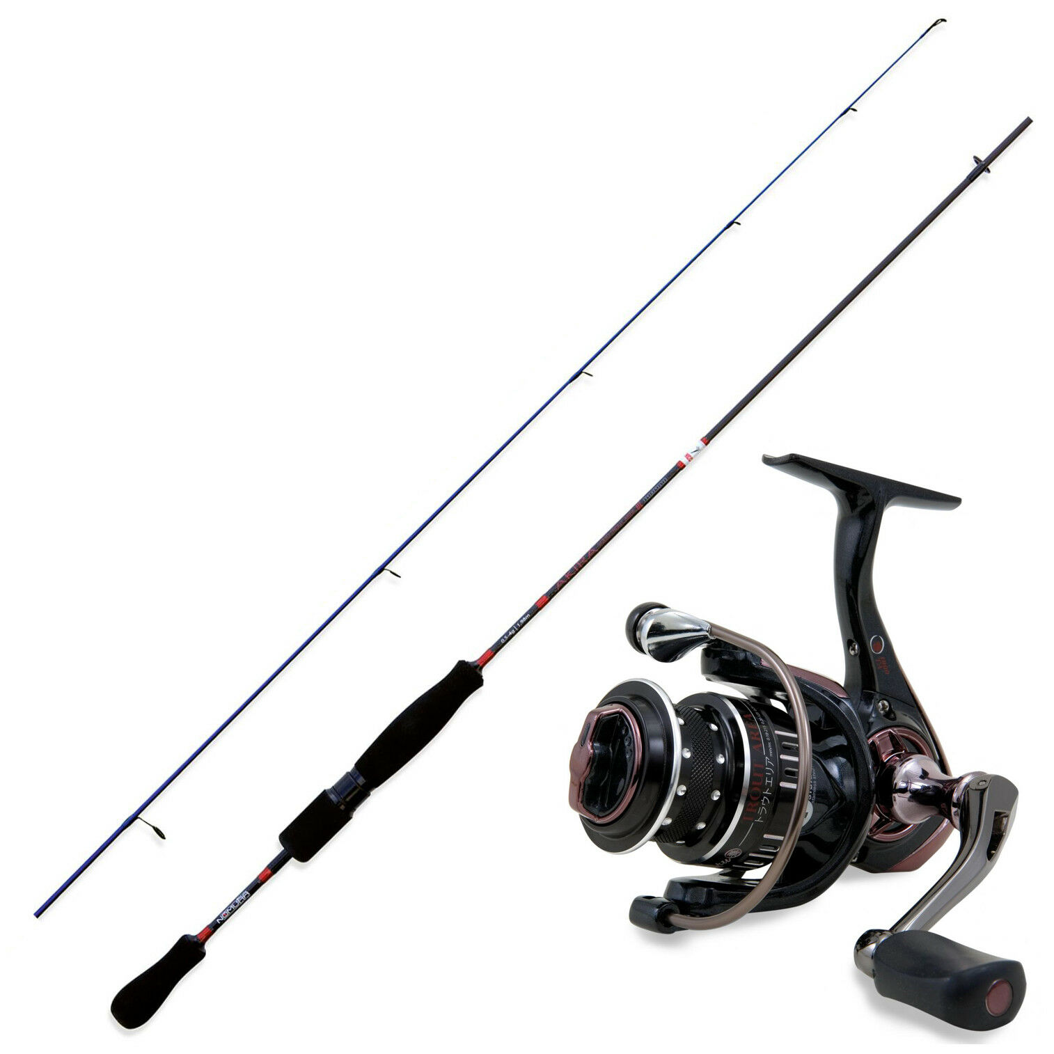 KP3574 Kit Pesca Trout Area Nomura Canna Akira Solid 1,70 m + Mulinello Har RNG