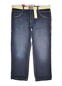 e8a0e8dd55fe83 Détails sur Neuf pour Homme Boston Grand Tailles Supérieures Vintage Jeans  Délavé