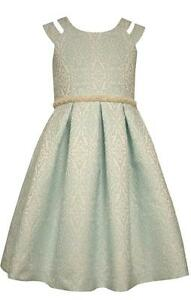 Bonnie Jean Girls Baby Pale Blue Dress Spring Easter Formal Wear Wedding Flower
