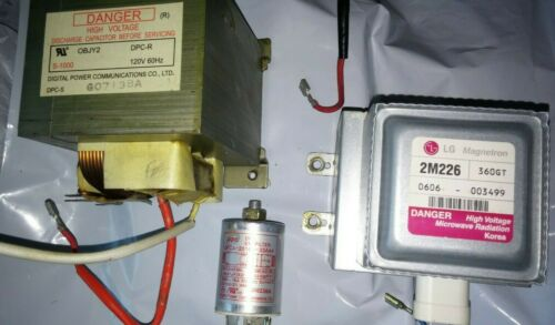 Transformer OBJY2 WHIRLPOOL MICROWAVE Magnetron 2M226 or Filter DFCA-2516R-33A