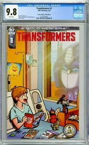 Transformers-1-ComicBooks-4-Kids-CB4K-limited-to-150-copies-CGC-9-8