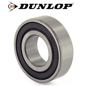 HIGH QUALITY - DUNLOP BEARINGS 6200 - 6209 2RS (PACK X 10 BEARINGS)