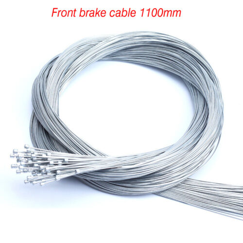 Bicycle Derailleur//Brake Cables Anti-Rust Cycling Front Rear Inner Cable 10PCs