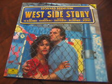 West Side Story Leonard Bernstein DG Deutsche Grammophon Classical 2 lp NM