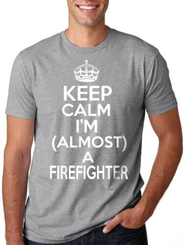Future Firefighter T-shirt Almost a Firefighter Tee shirt Men/'s Fireman Tee