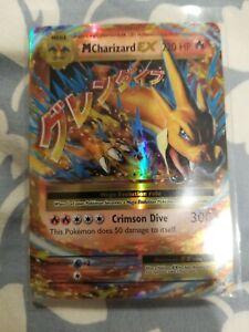 New Listing MEGA Pokemon M CHARIZARD EX 13/108 XY EVOLUTIONS HOLO ULTRA RARE NM