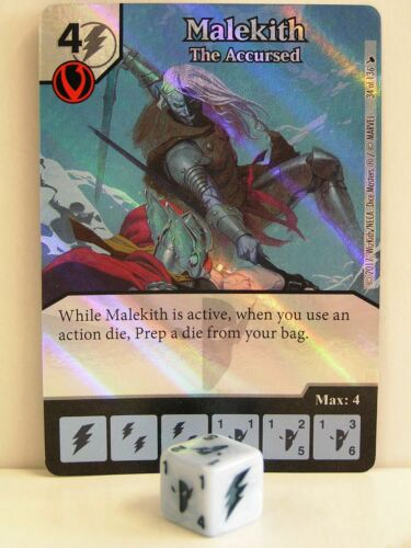 The Mighty Thor Dice Masters 1x #034 Malekith The Accursed Foil