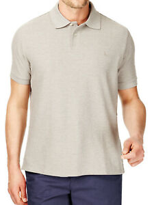 EX-M-amp-S-Blue-Harbour-Cotton-Rich-Stone-Pique-Polo-Shirt-Size-Large