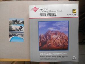 Details about VEGAS DESERT ROSE MOTEL PHONE BIRTH YEAR BOOK 1995 PHOTO  POSTCARD SANDS NEVADA