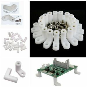 100x-L-Set-Type-Mounting-PCB-Feet-with-Screw-for-Arcade-Game-Board-New