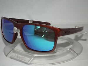 Image is loading CUSTOM-OAKLEY-SLIVER-SUNGLASSES-OO9262-Metallic-Red-Brown- b198eb7c49