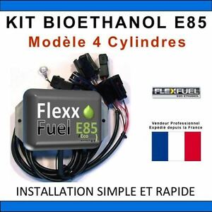 kit ethanol e85 4 cylindres flex fuel kit kit de conversion bioethanol e85 ebay. Black Bedroom Furniture Sets. Home Design Ideas