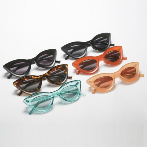 Sonnenbrille Randlos UV400 Sonnenbrille Katzenauge Brille Voll-Rahmen für Damen