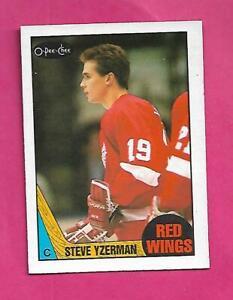 1987-88-OPC-56-RED-WINGS-STEVE-YZERMAN-EX-MT-CARD-INV-D1857