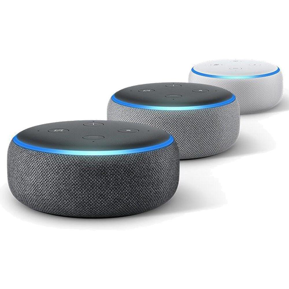 Amazon Echo Punkte 3rd Generation - Smart Lautsprecher mit Alexa