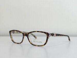 5699d896443e 6 Tiffany   Co. TF 2074 8155 Rectangle Havana Clear Eyeglasses Frame ...