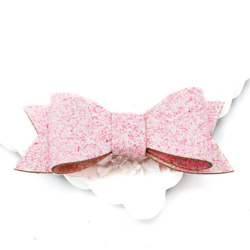Shiny Baby Girls Hair Clips Hairpin Sequins Toddler Hair Bows Accessories HF
