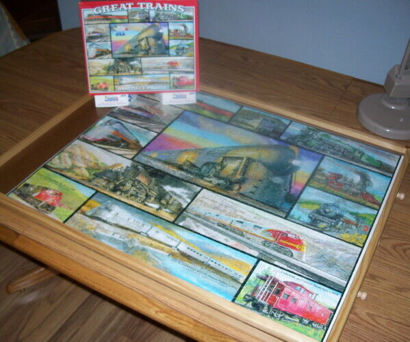 Great Trains – White Mountain Puzzle – Pre-Owned
