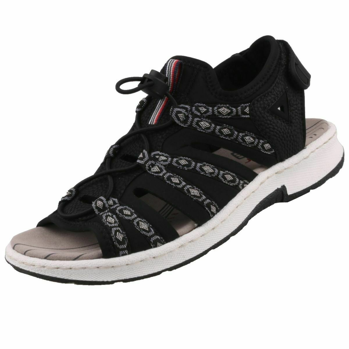 NEUF Rieker chaussures femmes Extérieur Sandales De Trekking Sandales chaussures femmes Sandales