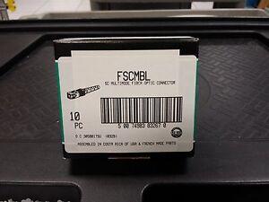 Panduit FSCMBL SC Multi-mode Fiber Optic Connector - Box of 10 - Brand New