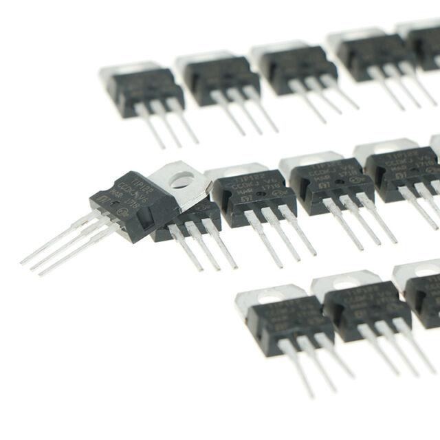 25 Pcs TIP122 100V 5A DIP Power Transistor for General Purpose Amplifier PK K6J1