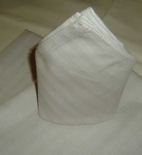 Mundserviette sustancia servilleta napkin 50x50 cm rayas Taupe nuevo 10 St