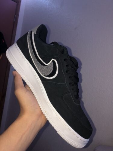 nike air force 1 chenille swoosh