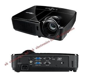 Optoma DX327 DLP 2600 ANSI Lumens Home Cinema/Office PC Projector Audio in/out