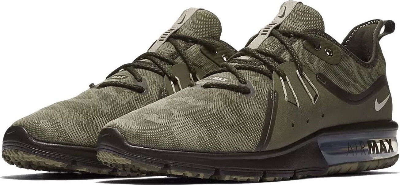 NIKE AIR MAX  SEQUENT 3 PREMIUM LOW SNEAKERS MEN SHOES CAMOUFLAGE SIZE 10.5 NEW  brand outlet