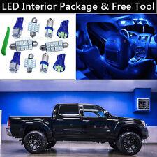 5PCS Bulbs Blue LED Interior Car Lights Package kit Fit 05-2014 Toyota Tacoma J1