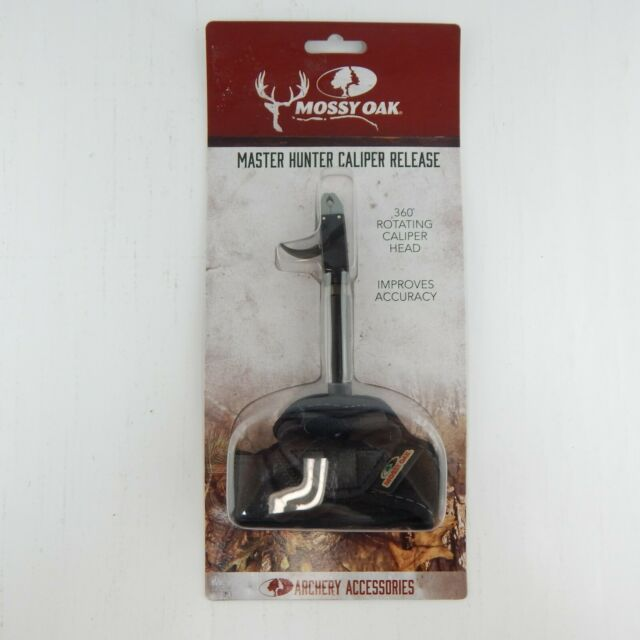 Mossy Oak Master Hunter Caliper Release 360 Degree Rotating Head Archery Bow