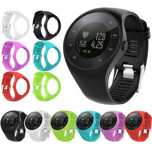 Para-Polar-M200-GPS-Watch-Reloj-Sport-Silicona-Correa-Banda-Pulsera-Wrist-Strap