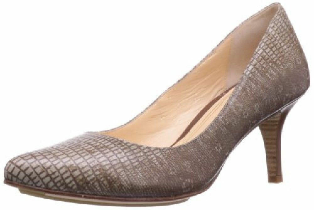 Cole Haan Women's Chelsea Low Pump Python Print Dress shoes 8 NEW IN BOX