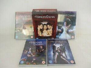 COFFRET DVD SERIE VAMPIRES & ROMANCE : VAMPIRE DIARIES - SAISONS 1 A 4 - V.O.