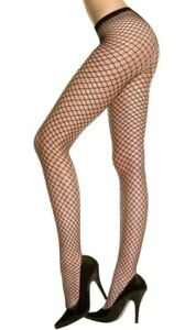 Plus-Size-Seamless-Mini-Diamond-Net-Pantyhose