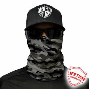 SA-COMPANY-Grey-Military-Camo-Face-Shield-Schal-Bandana-Halstuch-BLITZVERSAND