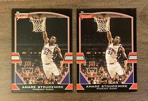 2003-04 Bowman Signature Edition Suns Basketball Card #46 AMARE STOUDEMIRE LOT 2