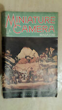 VINTAGE MAGAZINE: THE MINIATURE CAMERA MAGAZINE - MARCH 1939 VOL.III NO.4