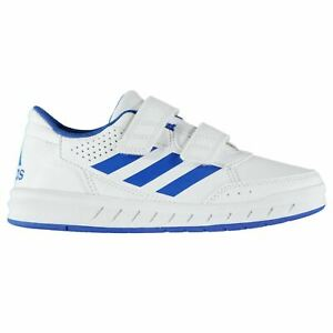 Details about adidas Kids Alta Sport CF Boys Trainers Shoes Touch and Close Ortholite