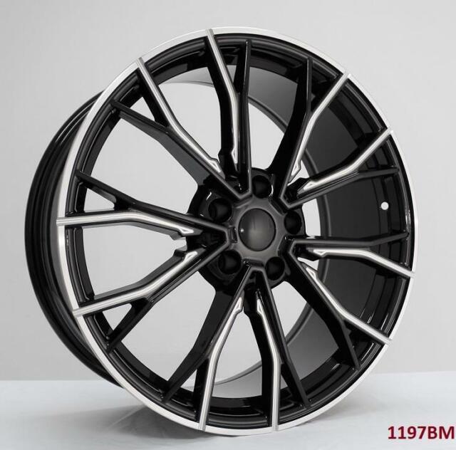20'' Wheels For BMW 330i Sedan 2019 & UP 5x112 20x8.5/9.5
