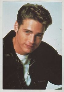 Beverly Hills 90210 Postcard Cartolina Jason Priestley As Brandon Walsh 90 S Ebay