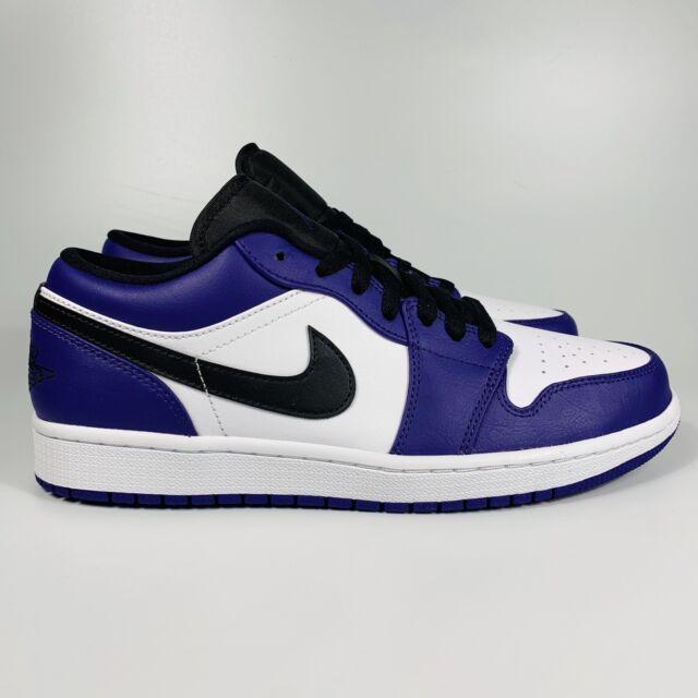 Nike Air Jordan 1 Low White Black Court