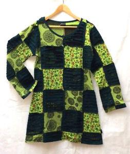 3d80e73a01 Image is loading GRINGO-fair-trade-HIPPY-boho-quirky-FESTIVAL-patchwork-