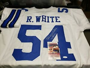 buy online 77474 27b5d Details about RANDY WHITE AUTOGRAPHED DALLAS COWBOYS JERSEY JSA WITNESS  PROTECTION COA