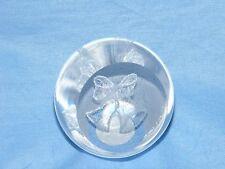 Caithness Glass Paperweight Wedding Bells Wedding Day Present  Gift - U12009