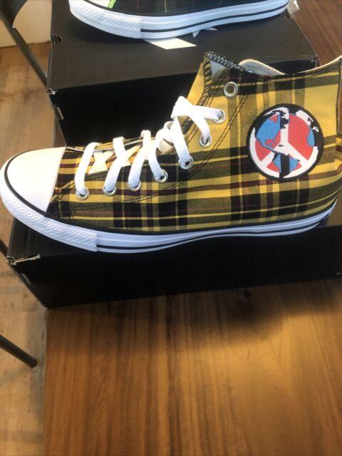 Plaid World Peace Shoes Sz 12 167412F