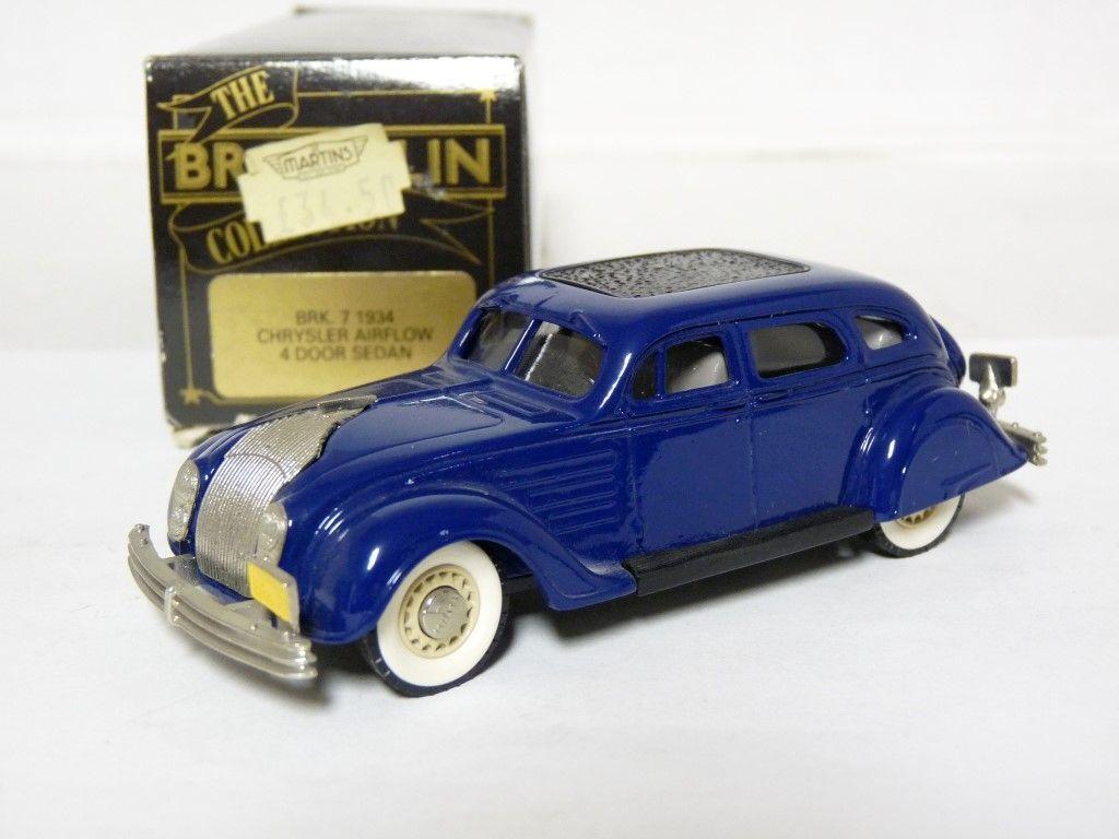excelentes precios Brooklin BRK7 1 1 1 43'34 Chrysler el flujo de aire hecho a mano de metal blancoo modelo de coche  servicio considerado